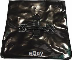 10 Black Sand Bag Covers Inflatable Bounce House Tent Anchor Vinyl Sandbags