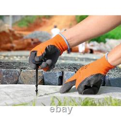 2000 x 5in Ground Cover Fixing Anchor Pegs Garden Weed Membrane Landscape Fleece