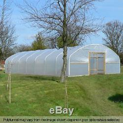 24FT Wide Poly Tunnels UK Commercial Polytunnel Polythene Covers Spares