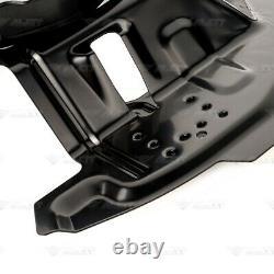 2x Deckblech Ankerblech Set vorne links rechts für BMW 3er E46 325i 330d 330i