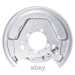 2x Toyota Avensis T25 rear parking brake disc splash guard panel backplate cover