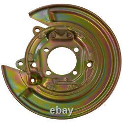 2x Toyota Corolla E12 01-07 left and right brake disc shield anchor plate cover
