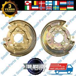 2x Toyota Corolla Verso Hinten Bremsscheibe Ankerplatte Links Recht