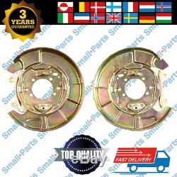2x Toyota RAV II 00-05 Hinten Bremsscheibe Ankerplatte Links Recht