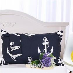 3D Anchor Pattern 67 Bed Pillowcases Quilt Duvet Cover Set Single Queen King AU