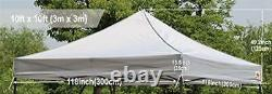 3x3m Pop Up Gazebo Replacement Top Cover 100% Waterproof Choose + Free Anchors