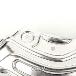 4x Ankerblech Bremsscheibe Set vorne hinten für BMW 1er F20 F21 bis 09/2015