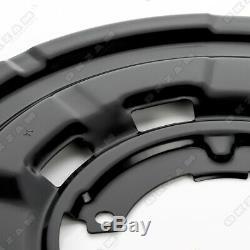 4x Ankerblech Bremsscheibe Set vorne hinten für BMW 2 COUPE CABRIO F22 F23
