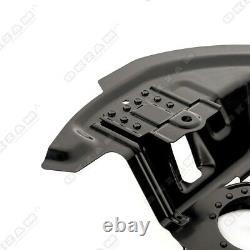 4x Ankerblech Bremsscheibe Set vorne hinten links rechts für BMW 3er E46 325i