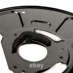 4x Ankerblech Hitzeschutzblech Set vorne hinten für MERCEDES-BENZ E-KLASSE 212
