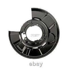 4x Bremsankerblech Spritzblech vorne hinten links rechts für BMW 3er E90 E91 E93