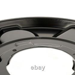 4x Bremsblech Spritzblech Bremsscheibe vorne hinten für BMW 3er E90 E91 E92 E93