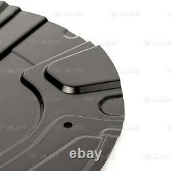 4x Deckblech Ankerblech Bremsscheibe Set vorne hinten für BMW X3 E83