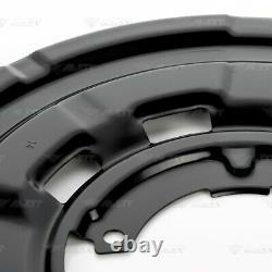 4x Deckblech Ankerblech Bremsscheibe vorne hinten für BMW 3er F30 F31 3 GT F34