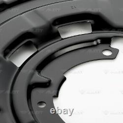 4x Deckblech Ankerblech Set vorne hinten für BMW 1er F20 F21 bis 09/2015