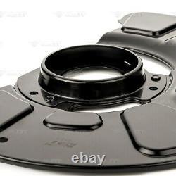 4x Deckblech Bremsscheibe Set vorne hinten für MERCEDES-BENZ E-KLASSE W212 S212