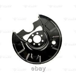 4x Deckblech Bremsscheibe Set vorne hinten für SEAT CORDOBA IBIZA 6K TOLEDO 1L
