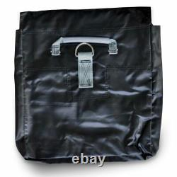 50 Lb 10 Black Vinyl Sand Bag Cover Anchor Canopy Tents Inflatable Bounce Houses