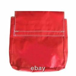 50 Lb. 10 Red Vinyl Sand Bag Covers Anchor Canopy Tents Inflatable Bounce Houses