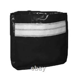 50 Lb 4 Black Vinyl Sand Bag Cover Anchor Canopy Tents Inflatable Bounce Houses