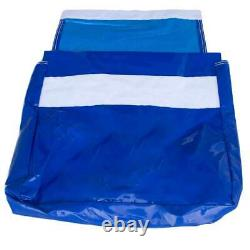 50 Lb 4 Blue Vinyl Sand Bag Cover Anchor Canopy Tents Inflatable Bounce Houses