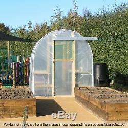 6FT Wide Poly Tunnel Domestic Garden Polytunnels Polythene Covers Spares