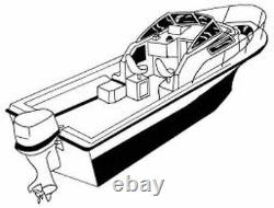 7oz BOAT COVER PRO LINE 20 EXPRESS WithANCHOR 2008-2013