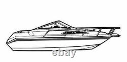 7oz BOAT COVER RINKER 250 FIESTA VEE With ANCHOR DAVIT WithO SWPF 02-05