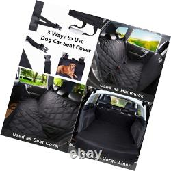 ADOV Car Seat Cover for Dogs with Seat Anchors, Heavy Duty Waterproof Scratch Pr