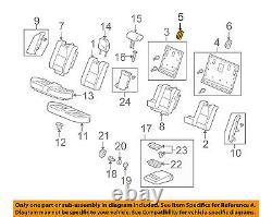 Acura HONDA OEM 10-13 ZDX Rear Seat-Anchor Cover Right 81323STXA11ZE