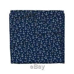 Anchor Anchors Nautical Nursery Baby Summer Sateen Duvet Cover by Roostery