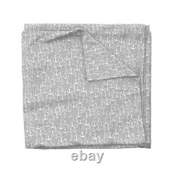 Anchor Grey Baby Nursery Nautical Anchors Sateen Duvet Cover by Roostery