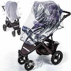 Anchor Life Stroller Pram Rain Cover Mosquito Net Sun Protector Wind Rain New AG