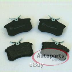 Audi A4 B5 Brake Discs ABS Rings Brake Pads Spritzbleche Wheel Bearing Rear