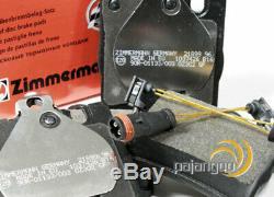 Mercedes CLK C209 zimmermann Brake Discs Pads Spritzbleche for Rear