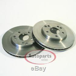 Mercedes E Class W124 Brake Discs Brake Pads 2 Spritzbleche for Front