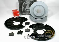 Mercedes SLK R170 zimmermann Brake Kit Logs Spritzbleche for Rear