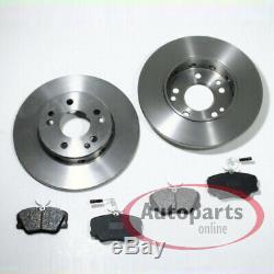 Mercedes W124 S124 C124 Brake Discs Pads Spritzbleche Front