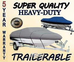 NEW BOAT COVER HEWESCRAFT-WEST COAST 180 SEARUNNER With ANCHOR ROLLER 2008-2013