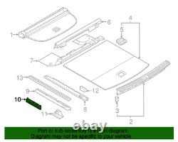 NEW Genuine Audi Anchor Cover Mount Bracket 80A813981