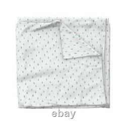 Navy Marine Sailor Nautical Sailing Anchors Sateen Duvet Cover by Roostery