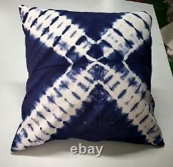 New Tie Dye Cushion Cover Lot Ethnic Pillows 16X16 Indigo Pillows Handmade Throw