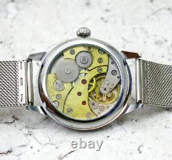 New Vintage USSR Soviet Russia Watch Molniya 3602 Glass cover Mechanical