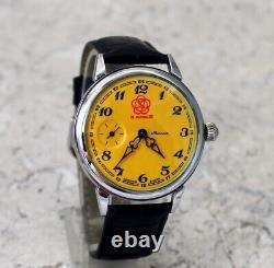 New Vintage Watch Molniya 3602 soviet USSR Mechanics Glass cover Youth Festival