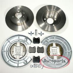 Opel Vectra B Brake Set 5-Loch Spritzbleche Handbrake Accessories for Rear