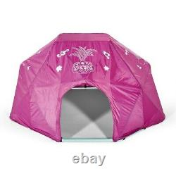 Plum Metal Climbing Frame Dome Trolls 3 Years + Polyester Cover + Anchors