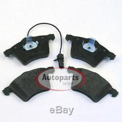 Seat Alhambra Brake Discs Pads Spritzbleche for Front Die Front Axle