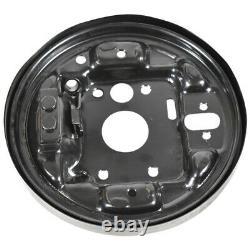 Suzuki Alto left rear side anchor plate brake disc shield dust cover 30968