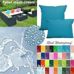 TAILOR MADECOVERWaterproof Outdoor sofa/floor Pillow Sofa patio chair Dw10
