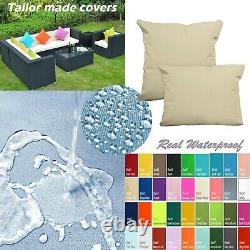 TAILOR MADECOVERWaterproof Outdoor sofa/floor Pillow Sofa patio chair Dw14